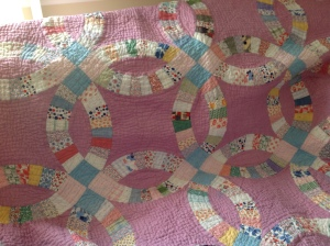 Antique Quilt #2  12-2014 hand quilted